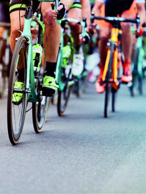 Corporate cycling events