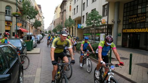 charity bike rides in Europe