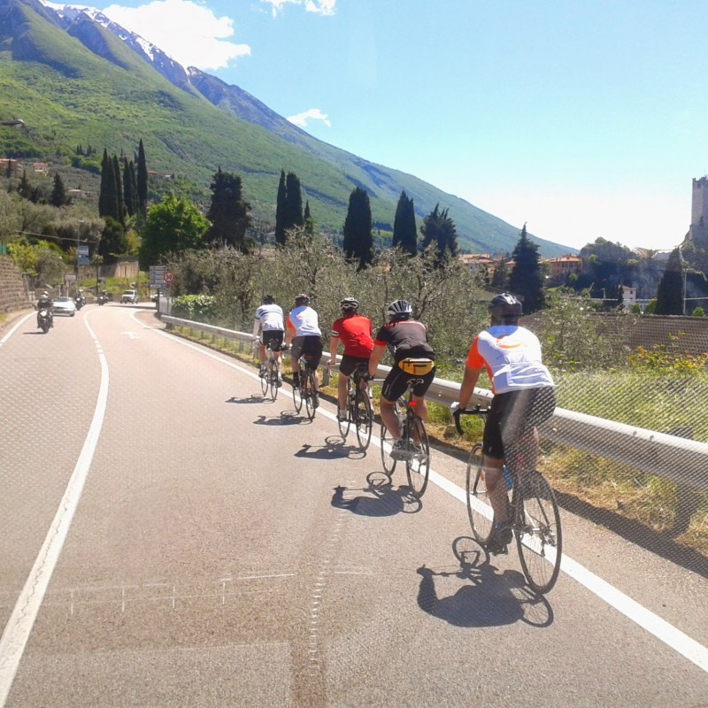 supported cycling holidays in Italy