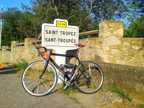 cycling Saint Tropez