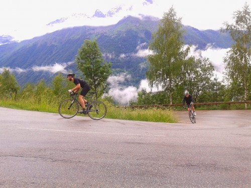 cycling holidays in the Alps