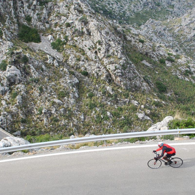 cycling Sa Calobra