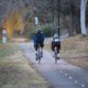 cycling during autumn