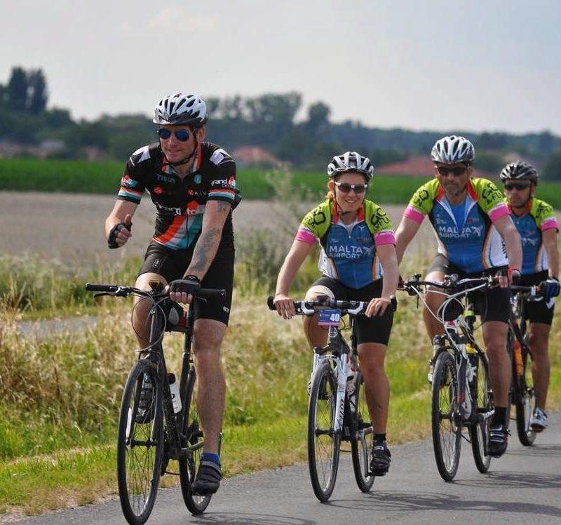 Jason Wright cycle leader