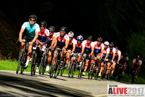 supported charity bike rides UK