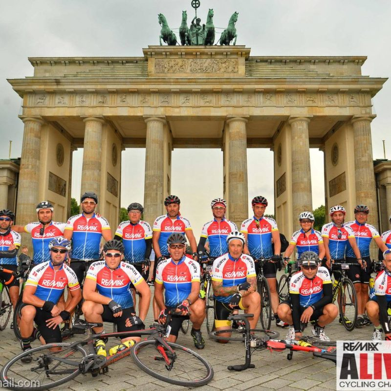 supported bike rides in Europe