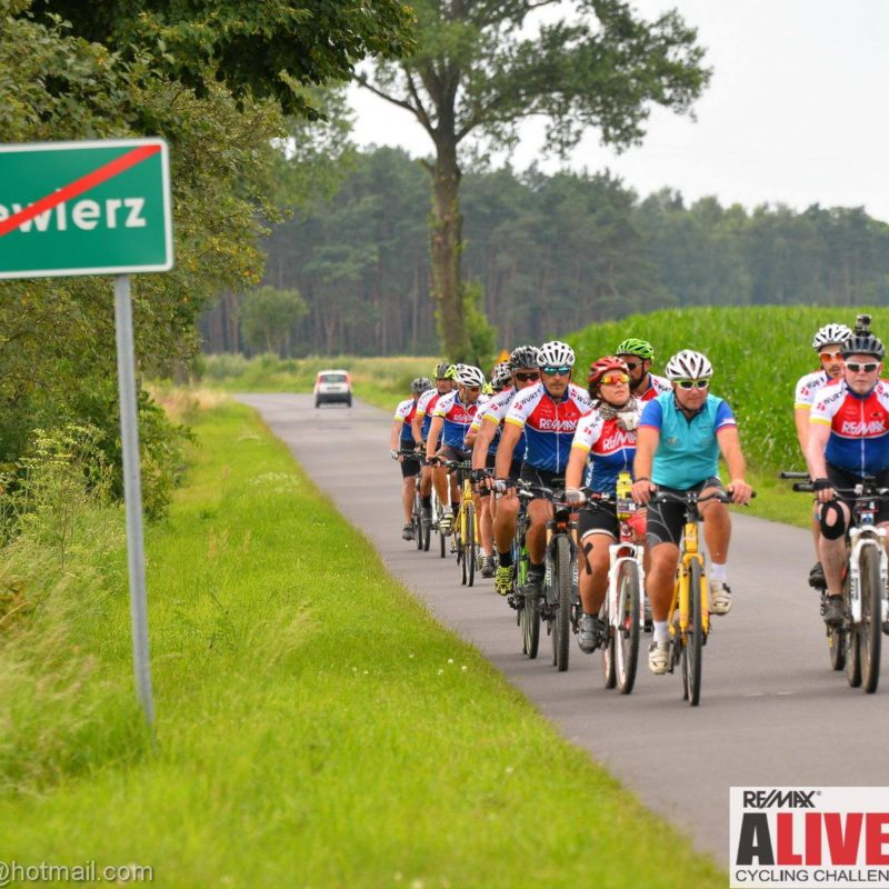 supported charity cycling events UK