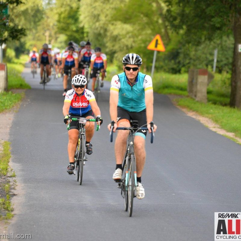 supported charity cycling events in UK