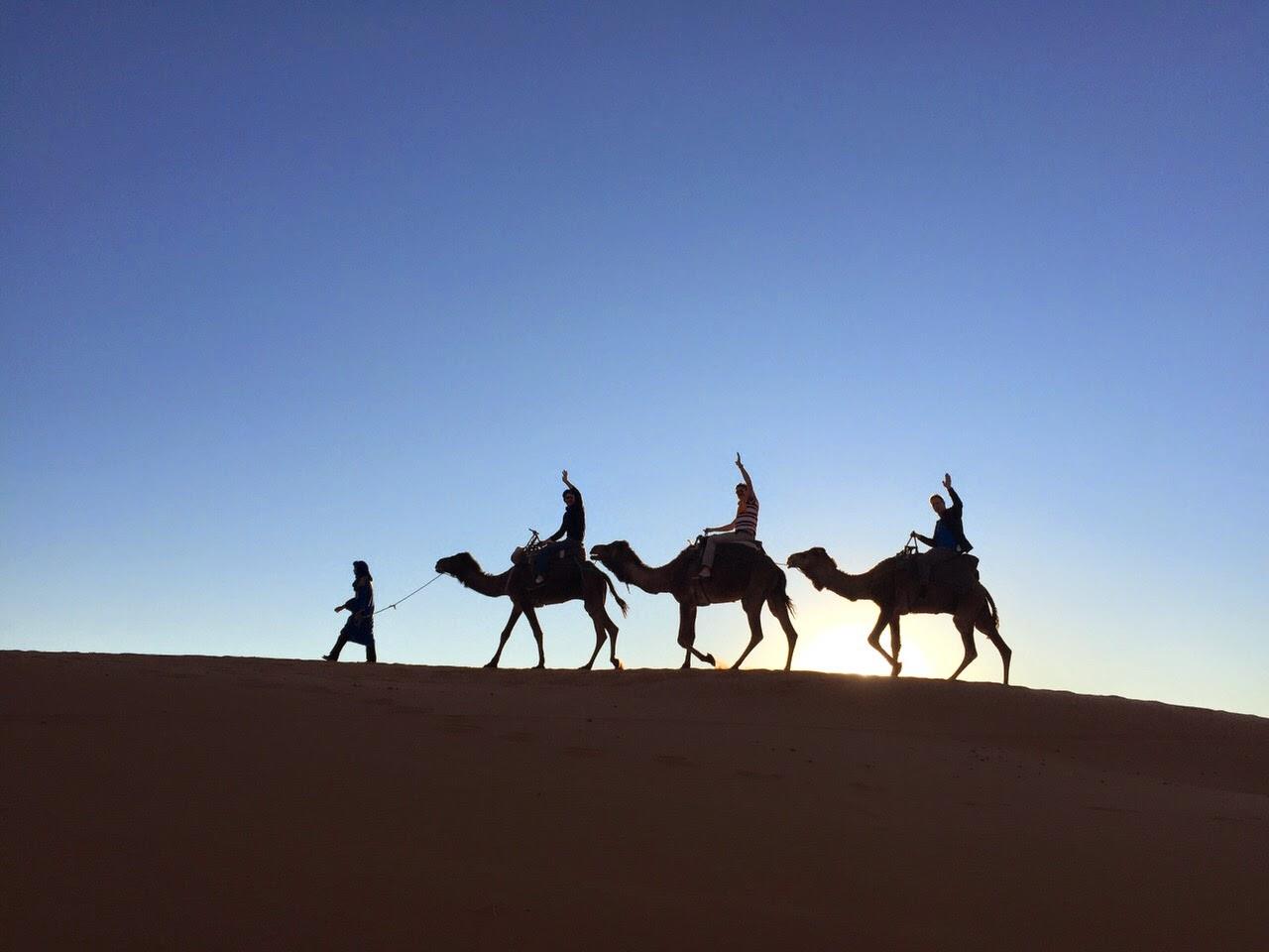 Cycle to the Sahara desert