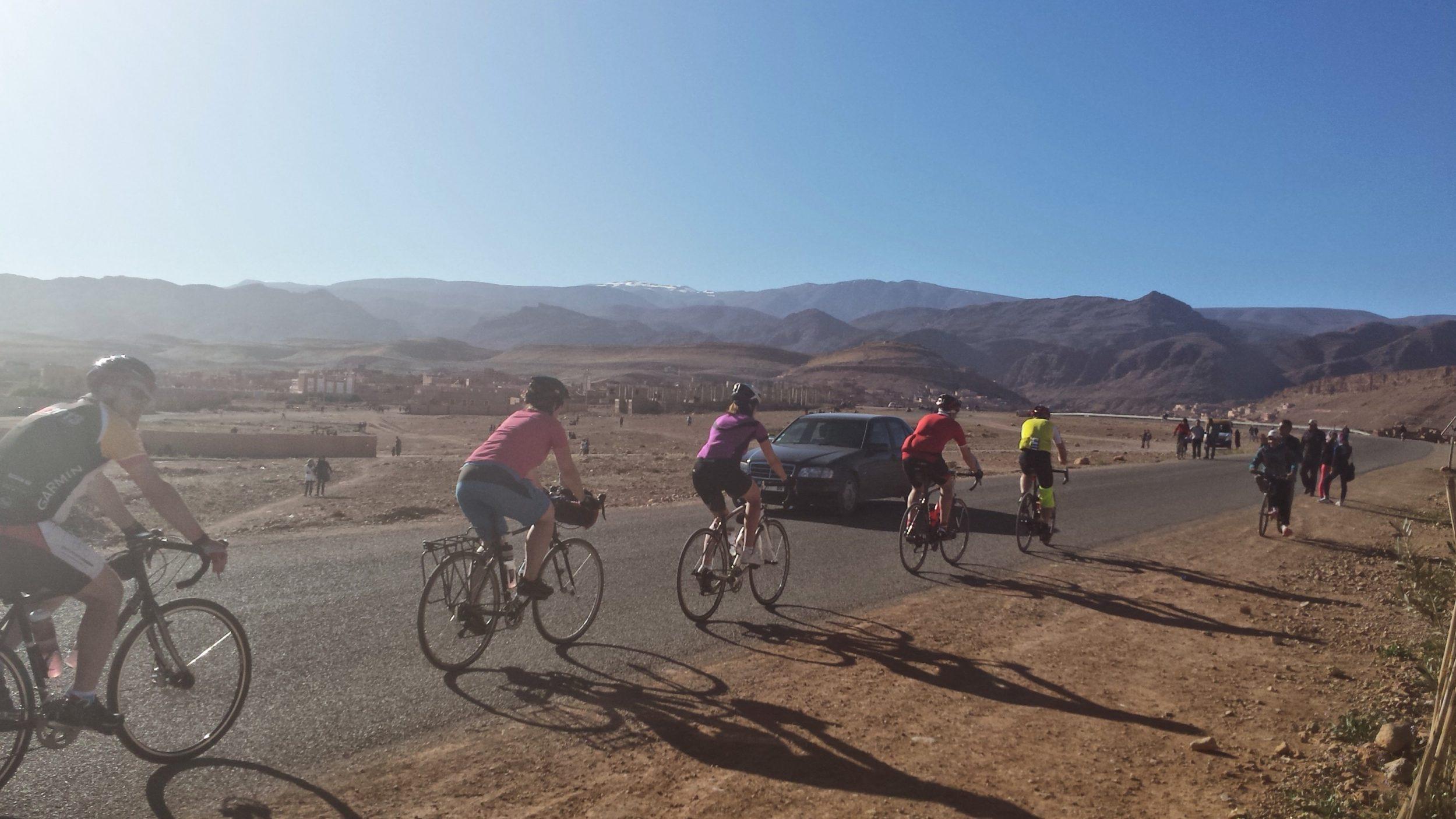 Cycling holidays Morocco