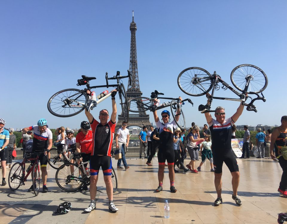 Charity London To Paris