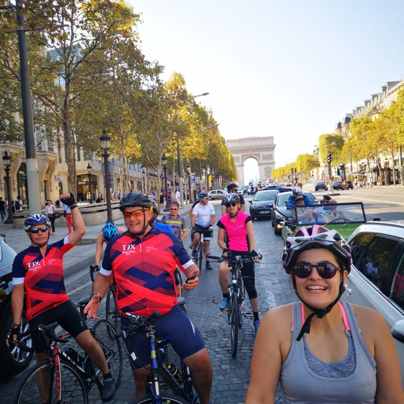 cycling champs Elysees