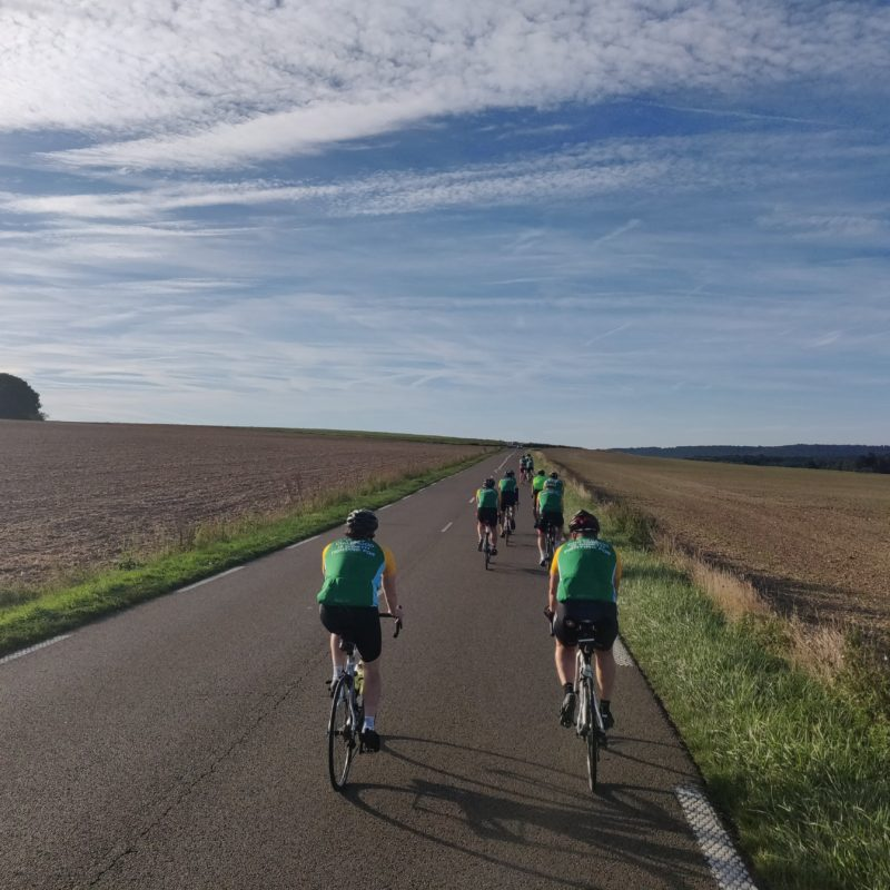 cycling to Paris from London