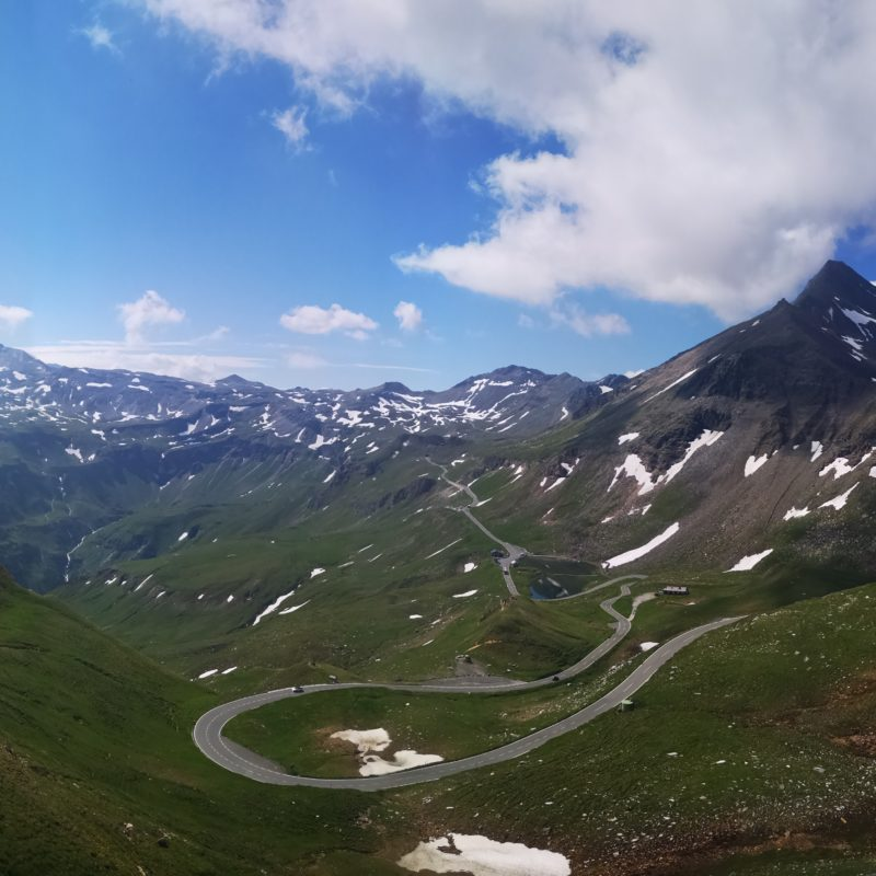 Cycling the Grossglockner