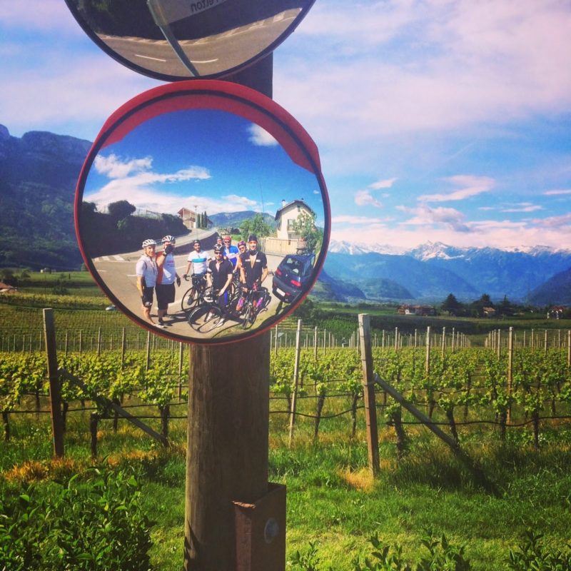cycling the valleys of Italy