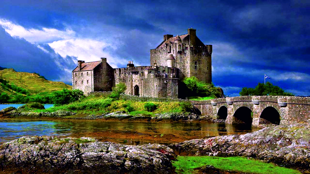 Historic castles of the Highlands - Eilean Donan Castle