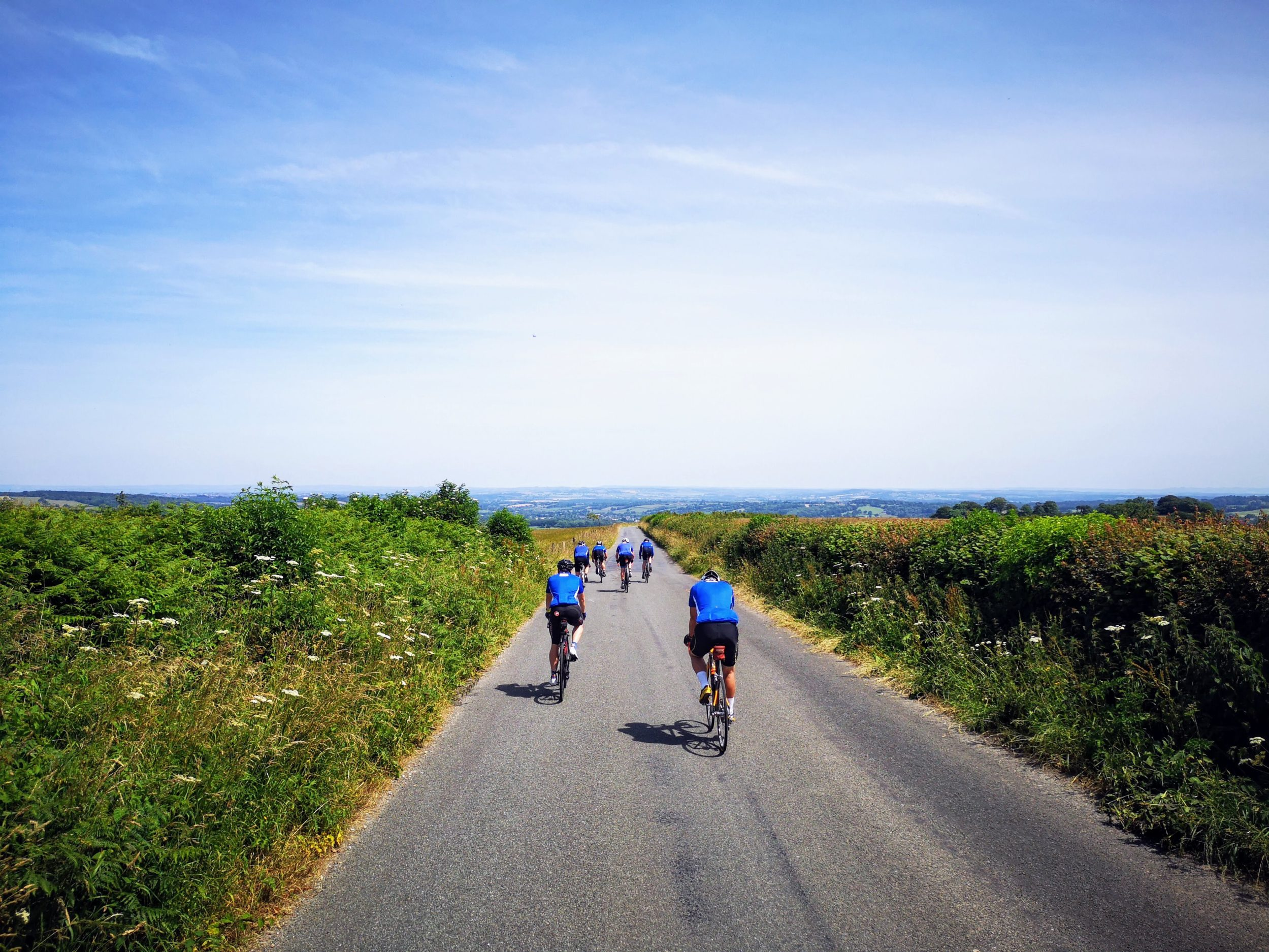 cycling the spectacular English Coast To Coast from St Bees To Robin Hoods Bay bike ride