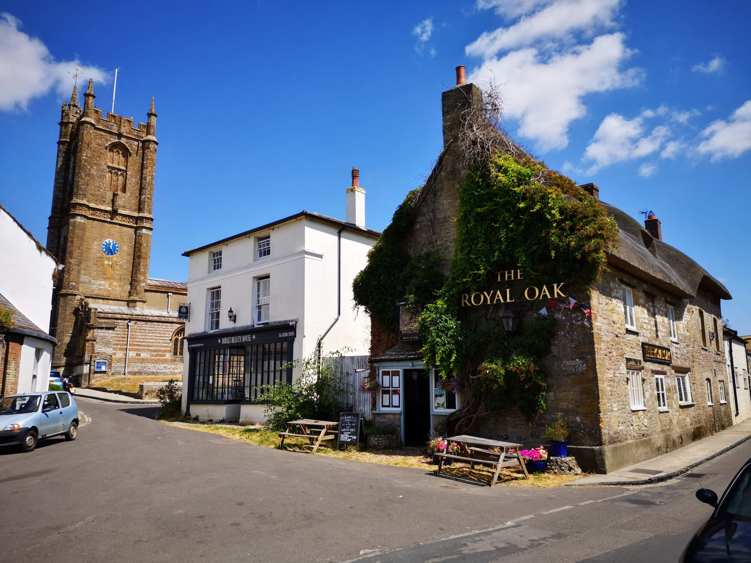 Pretty English villages and pubs on the Coast To Coast bike ride