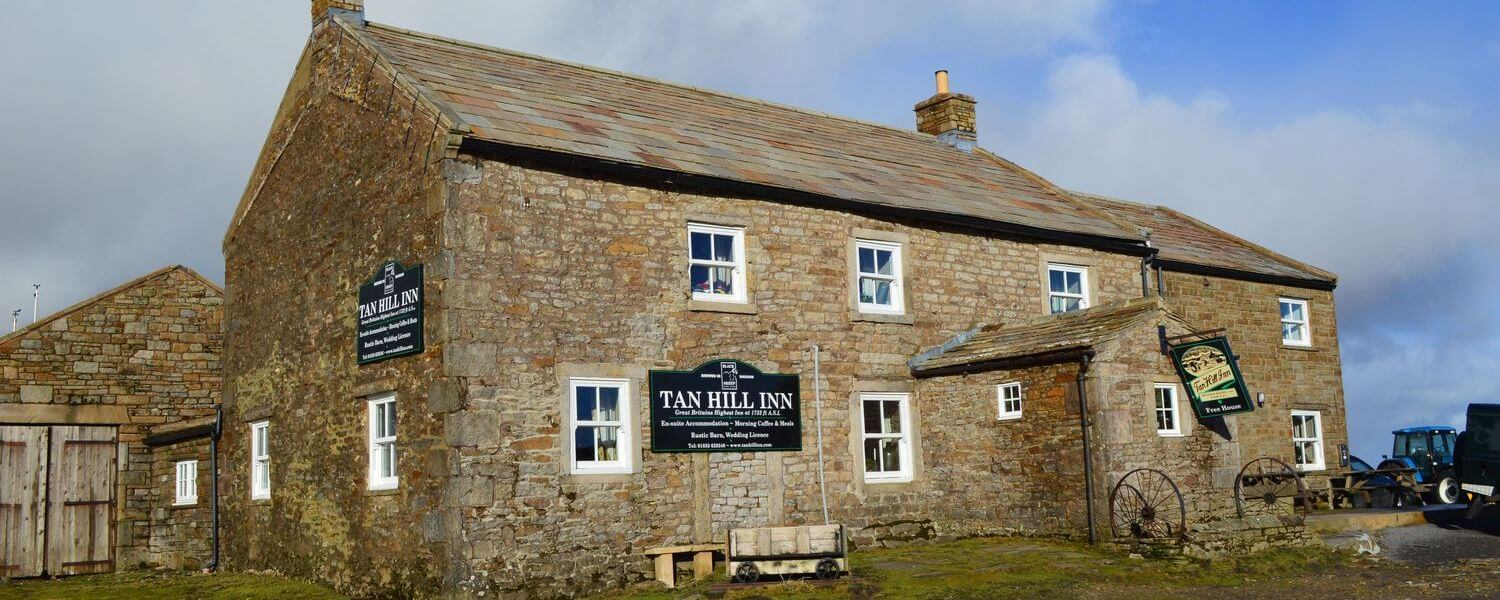 Tan Hill Inn - Britain's highest pub on the Yorkshire Dales