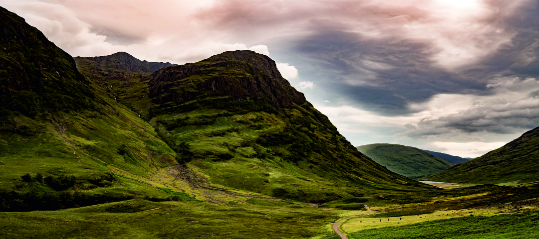 Awe inspiring locations around every corner when cycling in Scotland
